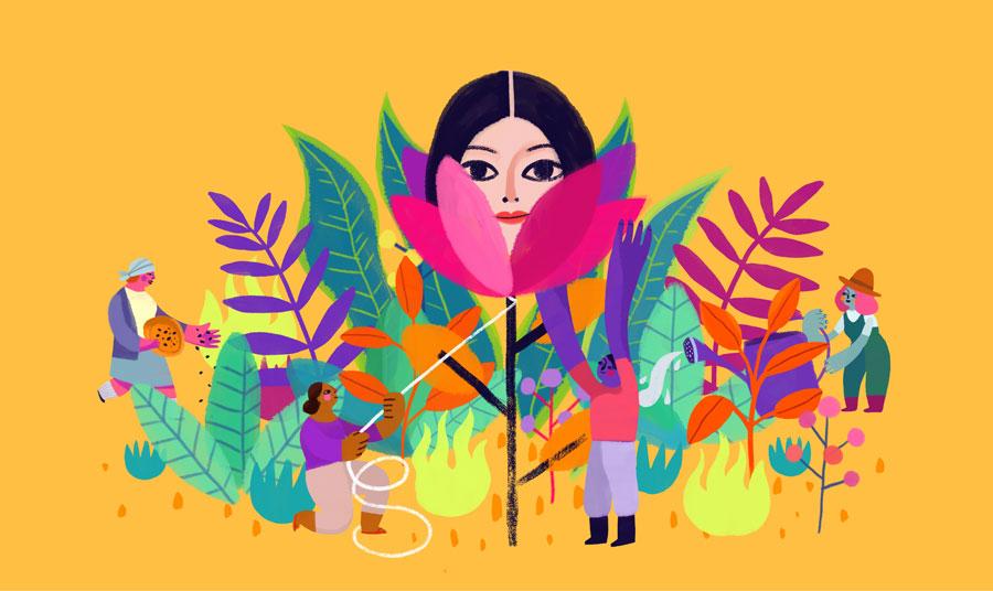 Illustration by Higina Garay