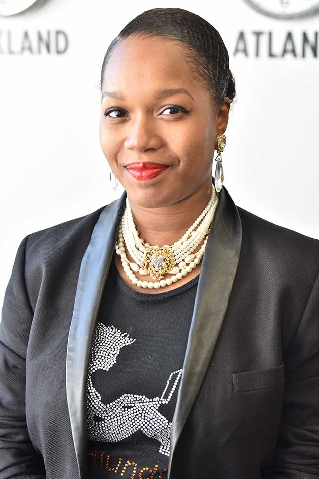 Portrait of Jasmine Edwards, CEO and Founder of iSubz