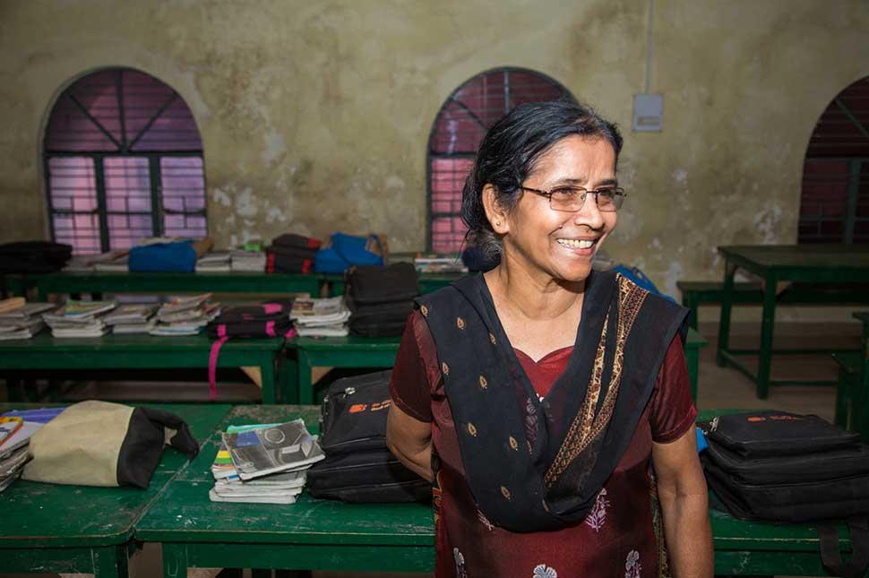 Portrait of Sister Sudha Varghese