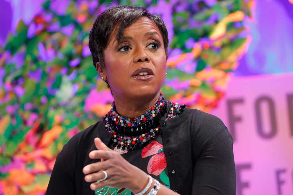 Mellody Hobson speaking at an event - by Paul Morigi