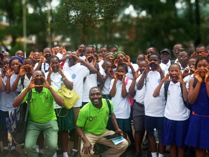 Speak Your Mind campaigners in Sierra Leone