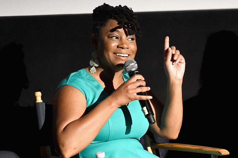 Honoree Mercedes Cooper speaks onstage at Spirit of Independence during the 2016 Los Angeles Film Festival at Arclight Cinemas Culver City on June 4, 2016 in Culver City, California.