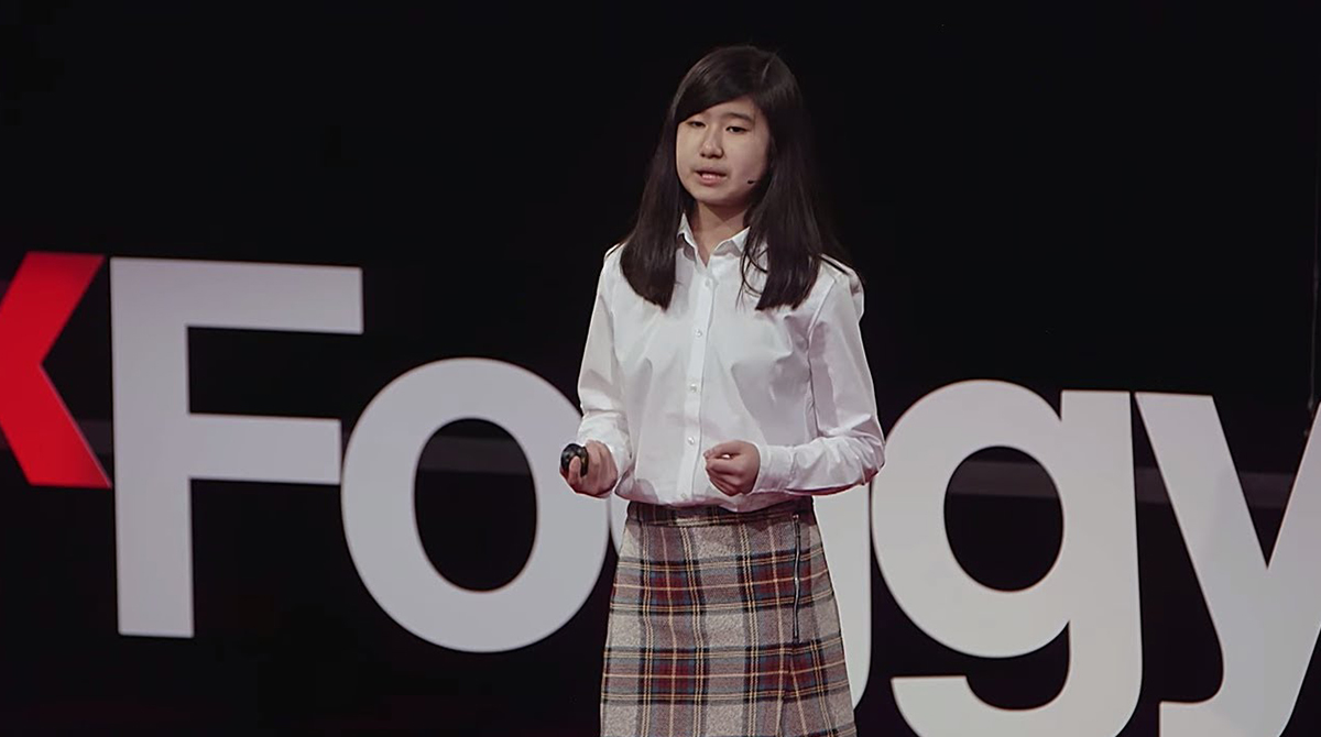 WATCH: Changing the world with code | Emma Yang | TEDxFoggyBottom