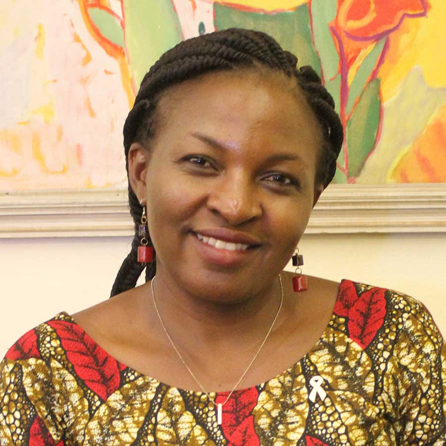 Portrait of Angela Nguku