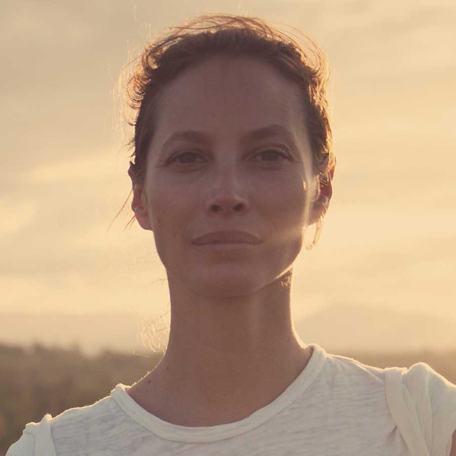 Portrait of Christy Turlington Burns