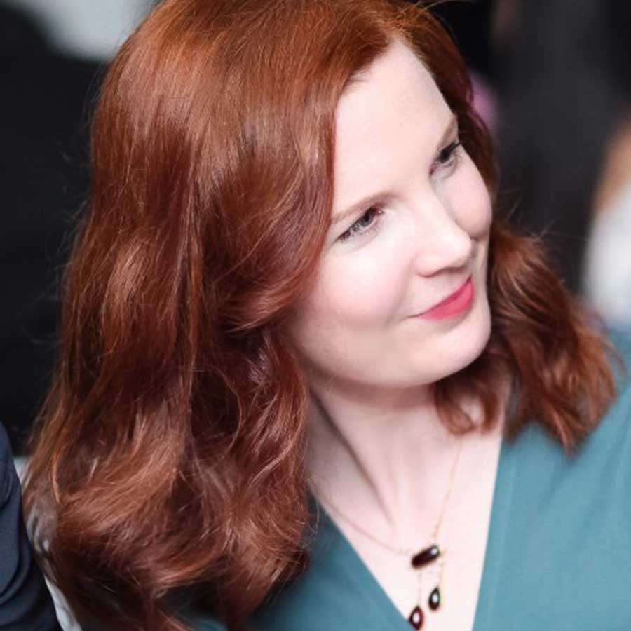 Portrait of Kate Crawford, co-founder and director of research at AI Now