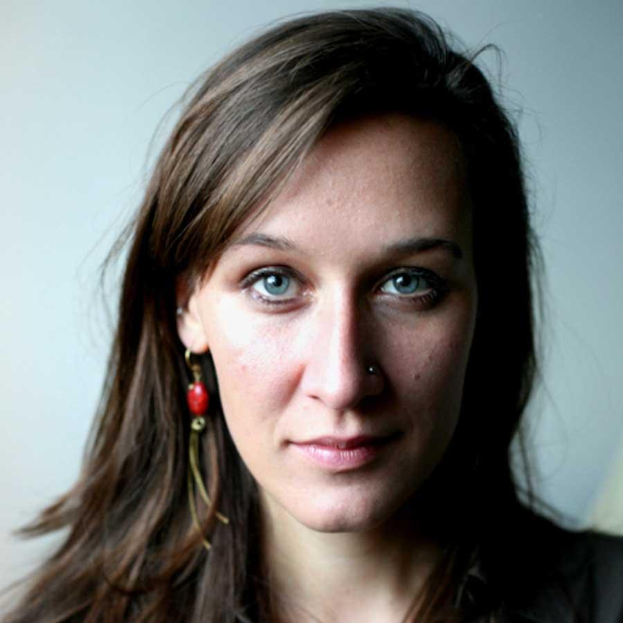 Professional portrait of Maggie Lemere