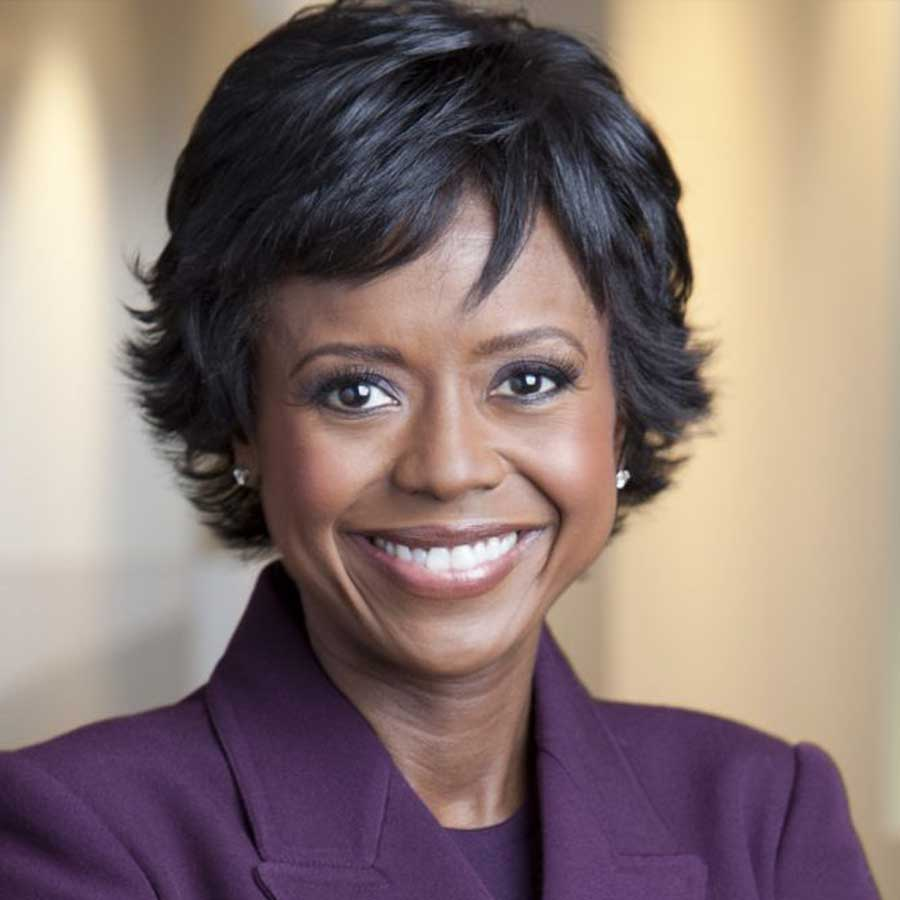 Professional portrait of Mellody Hobson