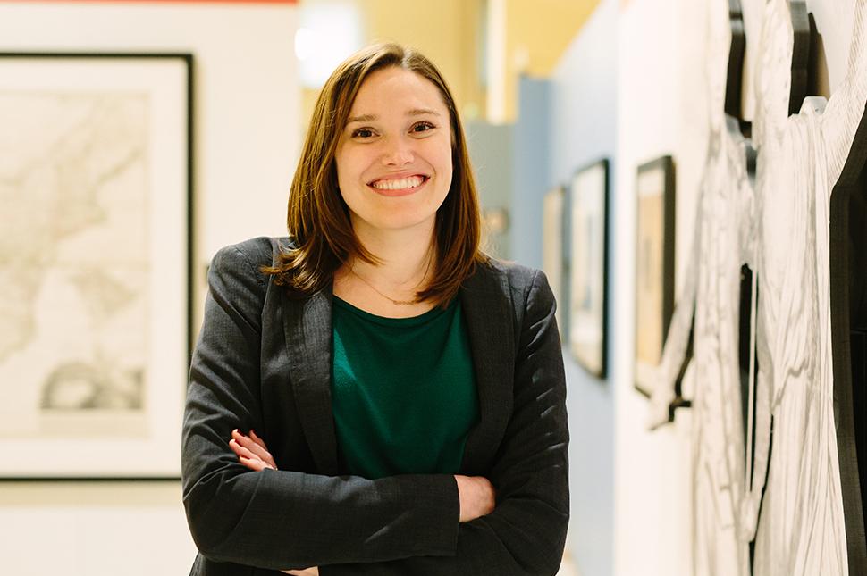 portrait of historian, curator, and professor Allison Lange