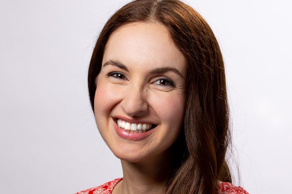 Portrait of Sara Mauskopf, cofounder of care giving startup Winnie