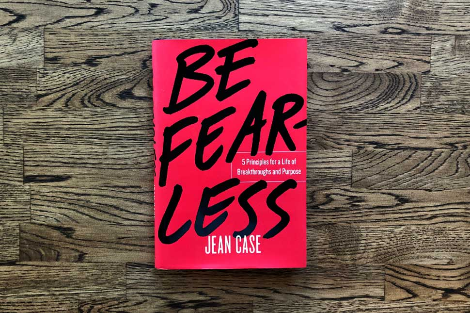 "Book cover for ""Fearless"" by Jean Case"