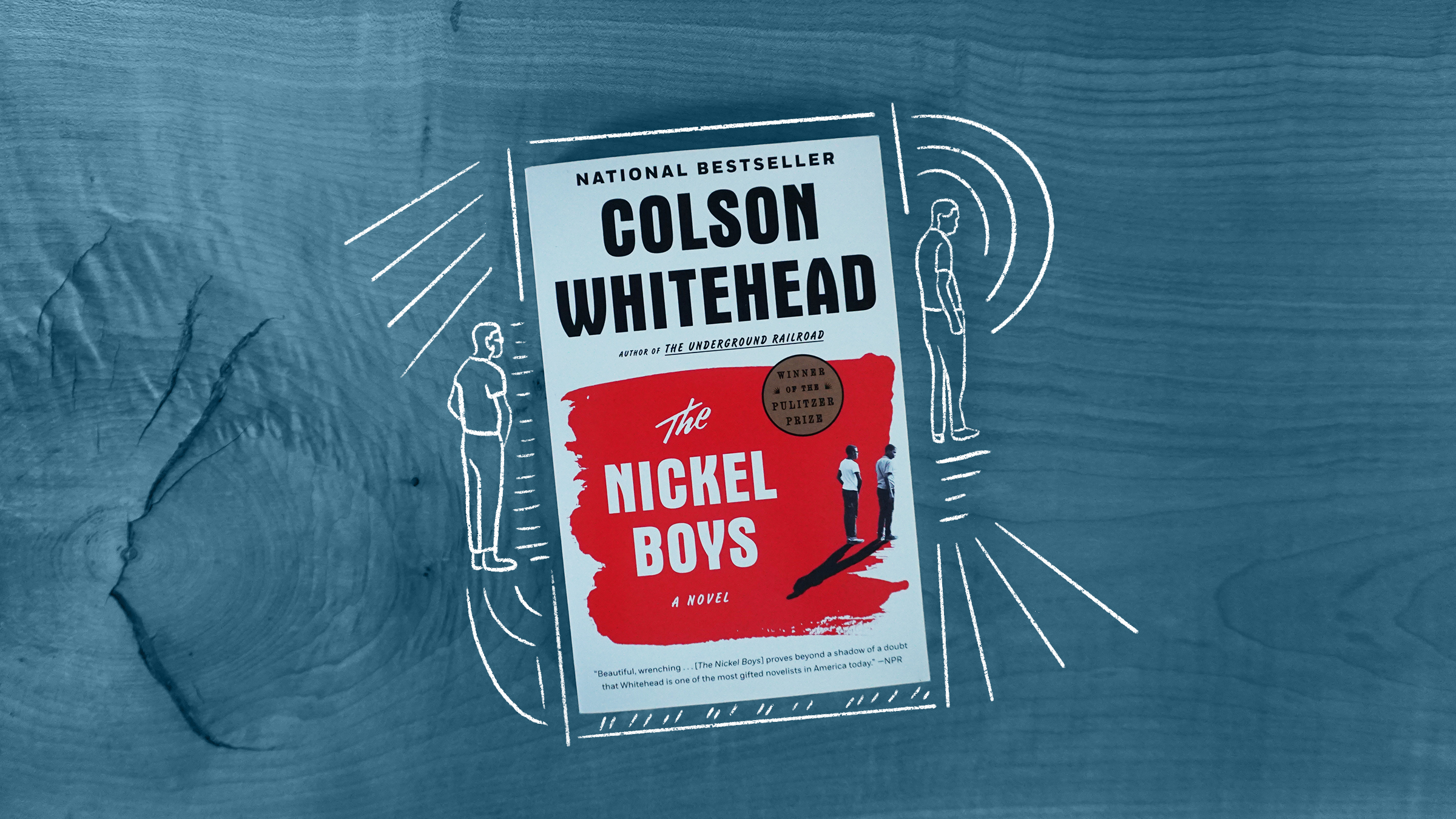An illustration of the book cover of Nickel Boys by Colson Whitehead